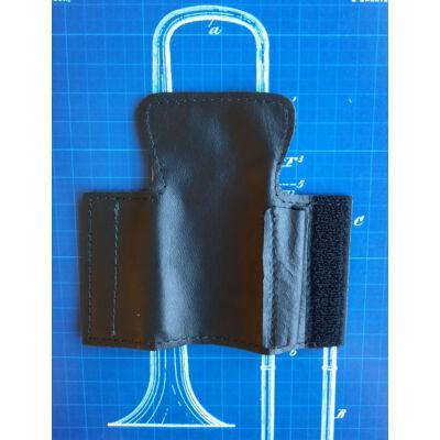 LSCO Harsona kúpventil védő és ceruza tartó bőr - fekete
