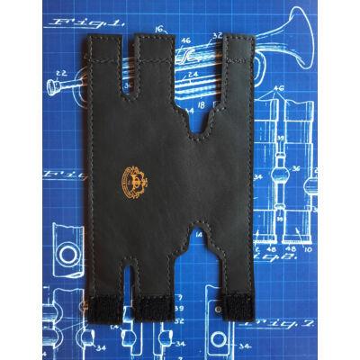 LSCO Getzen 'Eterna' Szárnykürt dugattyúvédő bőr - fekete