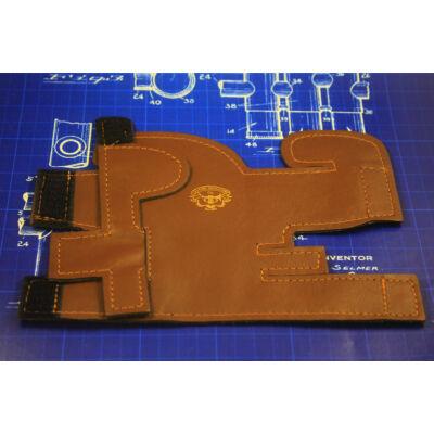 LSCO Deluxe B/C Trombita dugattyú védő bőr - Barna