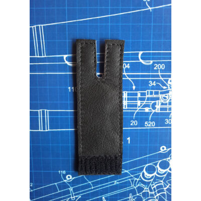LSCO Yamaha YEP321 Eufónium 1. dugattyú hüvelykujjvédő bőr - fekete