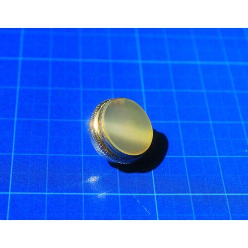 Allied Trombita/Kornett billentyű gomb - ezüstözött