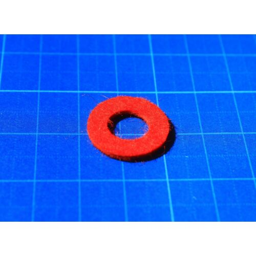 Allied Getzen Trombita/Kornett felső dugattyú sapka filc (piros)