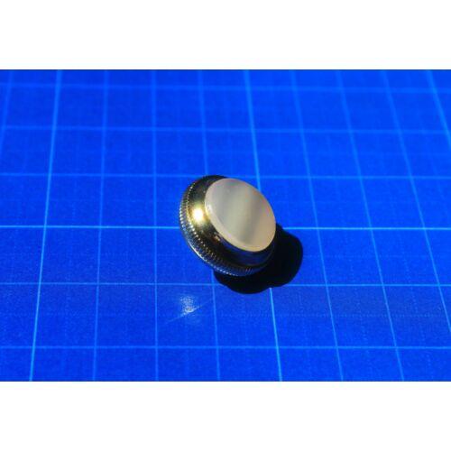 Getzen billenytű gomb - nikkelezett