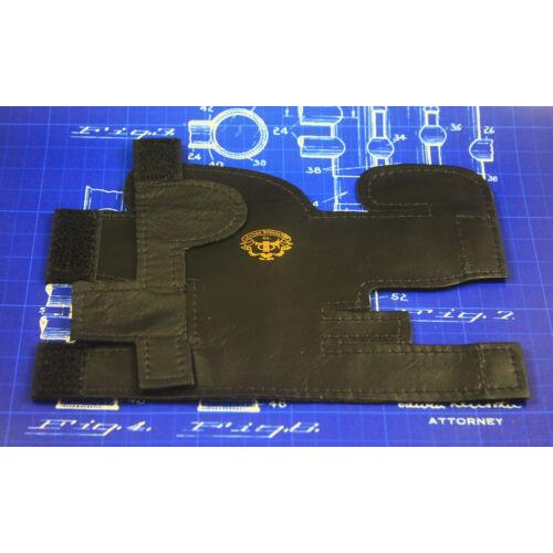 LSCO Deluxe B/C Trombita dugattyú védő bőr  - Fekete