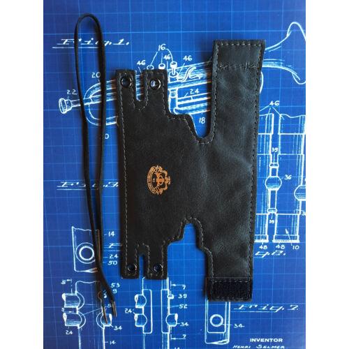 LSCO Yamaha & Jupiter Szárnykürt dugattyúvédő bőr - fekete